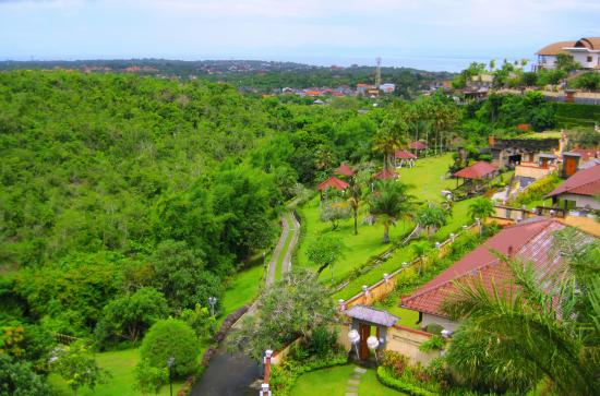 The Beverly Hills Bali: Landscape