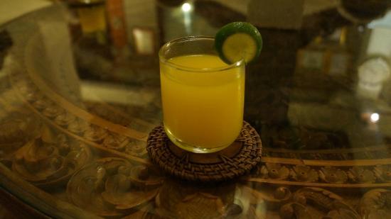 Restu Bali Hotel: ウエルカムドリンク