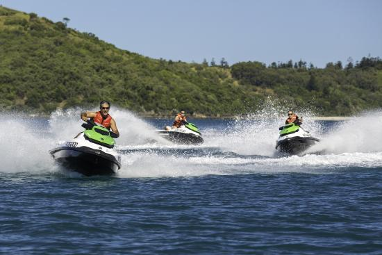 ‪آيرلاين بيتش, أستراليا: Whitsunday Jetski Tours‬