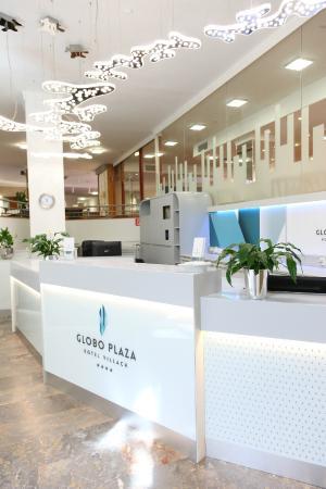 Globo Plaza Hotel: Rezeption