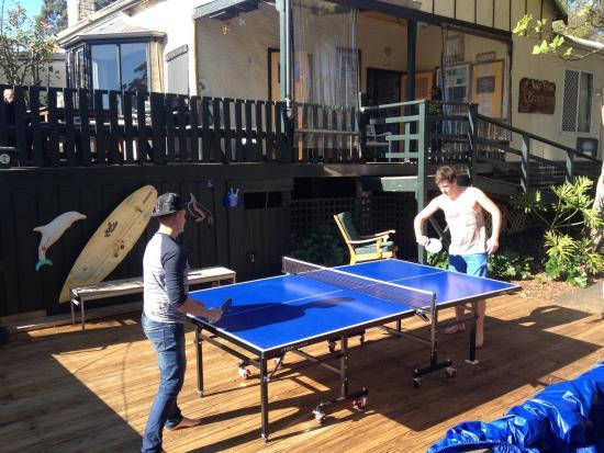 Inne Town Backpackers : Table tennis