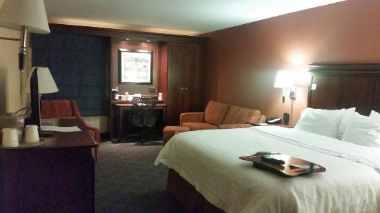 Hampton Inn Bentonville Rogers : King Suite