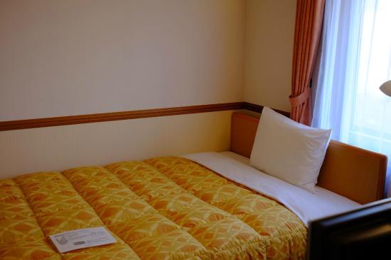 Toyoko Inn Asahikawa Ekimae Ichijo-dori: เตียงนอนคุรภาพดี