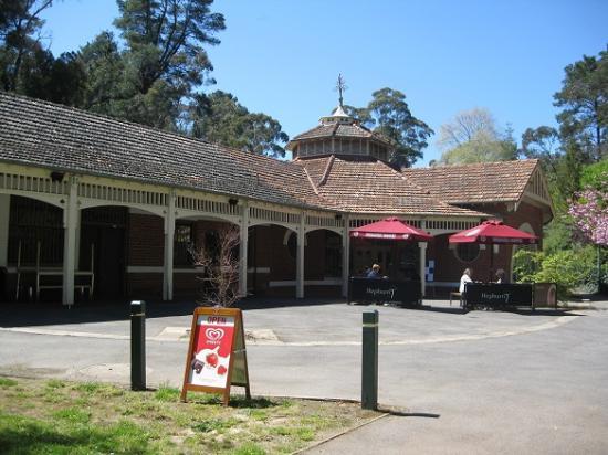Entrance - Hepburn Pavilion Cafe: Pavilion Café
