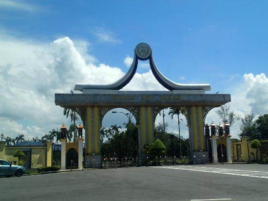 Pekan, Malaysia: Istana Abu Bakar