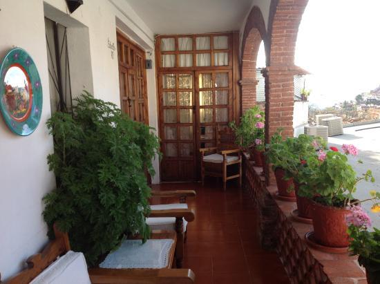Hotel Mi Casita: La balconata