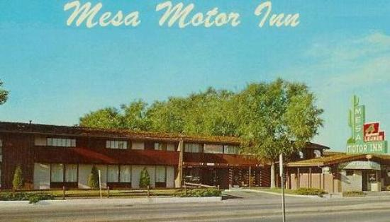 Mesa Motor Inn Motel Entrance From W Colfax Avenue