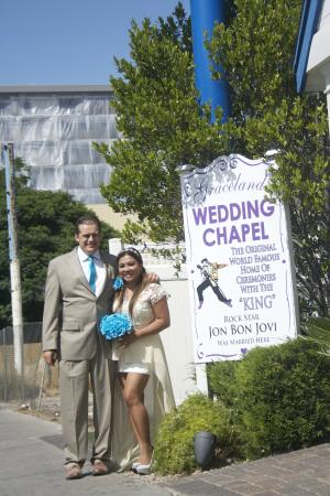 A Storybook Wedding Chapel Outside Graceland