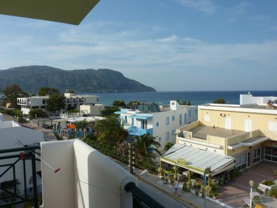 Hotel Romantica Apartments: Vy från balkongen