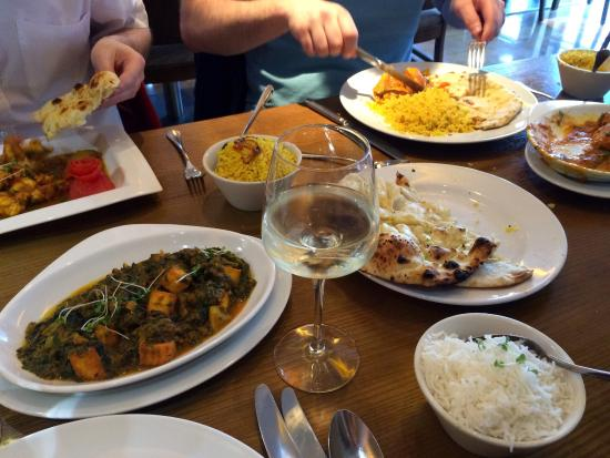 Indian feast at Bengal Brasserie