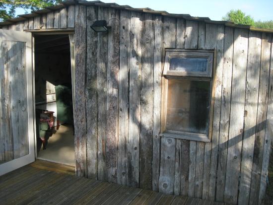 Summer Lodge: veduta della stanza dall'esterno