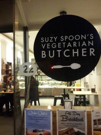 Suzy Spoon's Vegetarian Butcher
