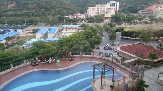 HaiLi Garden Hotel: 窓からの景色
