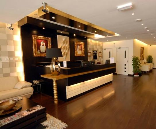 Fortune Classic Hotel Apartments : Reception