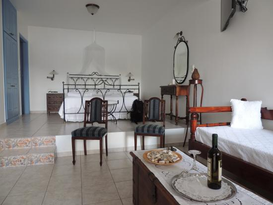 Villa Notos : Bedroom