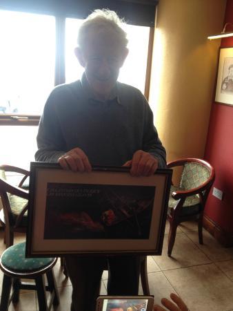 Dooagh, Irlandia: Le patron chasseur de requin