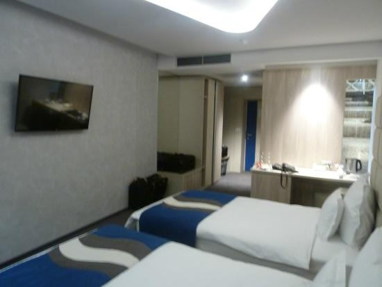 Our Room Picture Of Hotel Colors Inn Sarajevo Tripadvisor