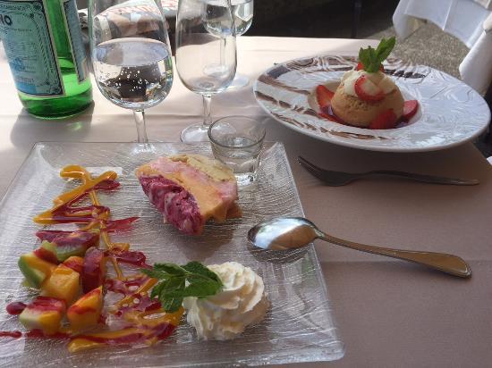 Le Restaurant du Port: Beaux et bons desserts