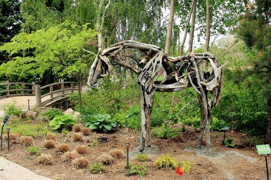 Horse Sculpture - Picture of Denver Botanic Gardens, Denver ...