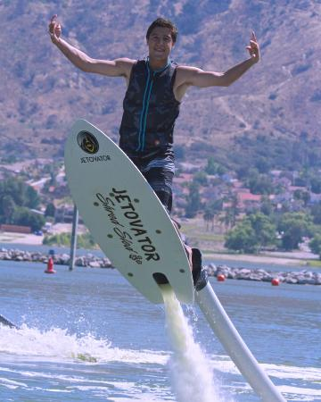 AquaFlyboarding: Shred Sled only with us in parker and lake Havasu!