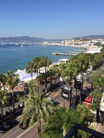 Hotel Carlton Nice : La vue de notre chambre
