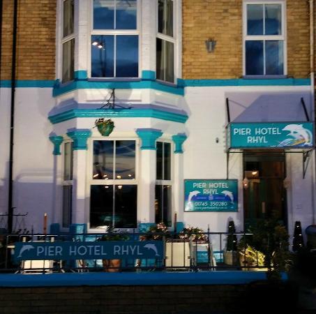 Pier Hotel Rhyl: New 2015 Exterior Frontage