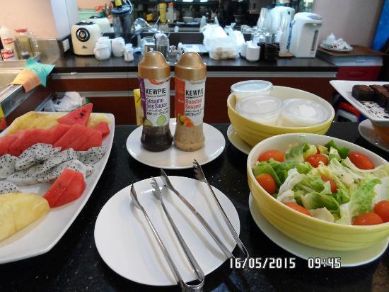 Vista Residence Bangkok: Breakfast