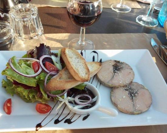 Le Bistrot de Saumane: foie gras aux figues
