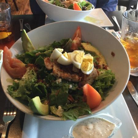 Picnikins Patio Cafe: Cobb Salad With Included Grilled Chicken