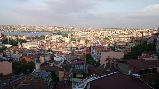 Hotel Euro Plaza : Fantastisk utsikt från hotellet