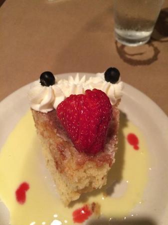 butter cake from the Old Salt Restaurant, Beaufort NC