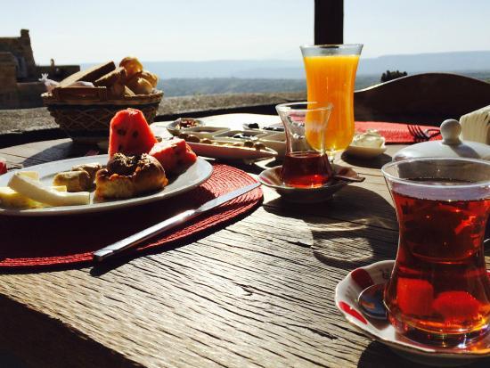 Kale Konak Cave Hotel: Breakfast