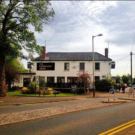 Norwood Arms: The View from Bath Road