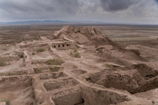 Urgench, อุซเบกิสถาน: Дворец и крепость