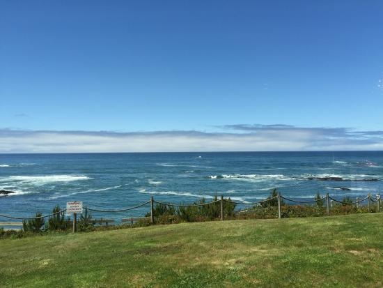 Depoe Bay, OR: View From Office
