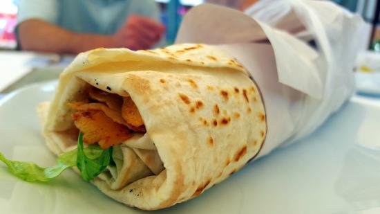 Best Chicken Kebab Wrap We Ve Ever Tasted Picture Of Kayis Restaurant Bar Side Tripadvisor