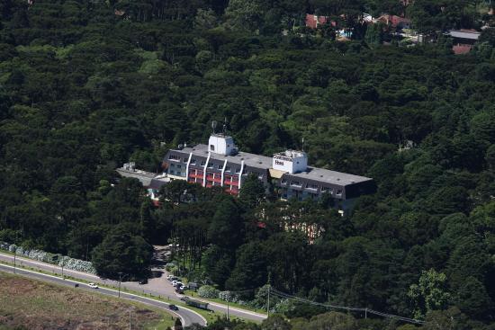 Vista Aérea Hotel Continental Canela