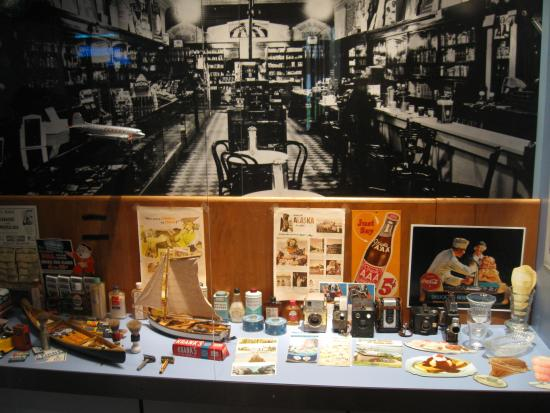 DEA Museum Gift Shop. Some nice historical items and polos ...