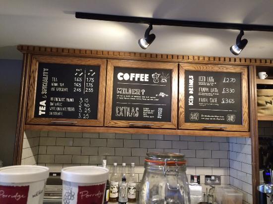 Caffe Nero Cake Menu Prices