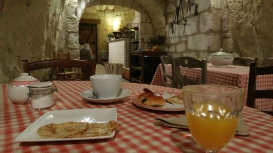 Le Petit Hureau : De troglodytische eetplaats