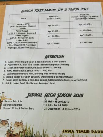 Semua Senang Picture Of Jawa Timur Park 2 Batu Tripadvisor