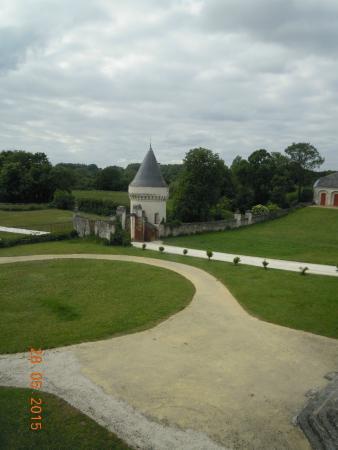 Chateau de Gizeux: Extérieur