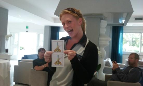 Tui Sensimar Atlantic Palace: Danielle with limoncello card