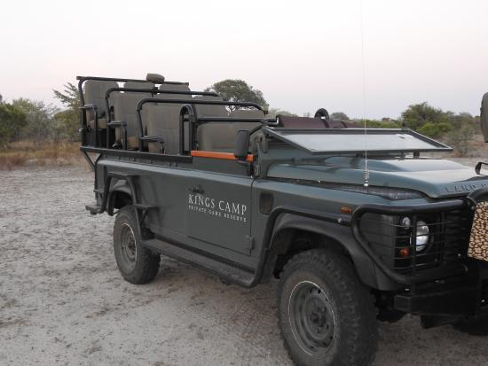 Kings Camp: Your land rover for safari drives