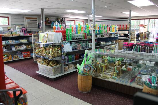 Yogi Bear's Jellystone Park Camp Resorts: Large General Store; Groceries, Souvenirs and more...