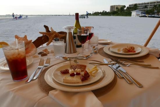 Pink Shell Beach Resort Marina Sunset Dinner Menu