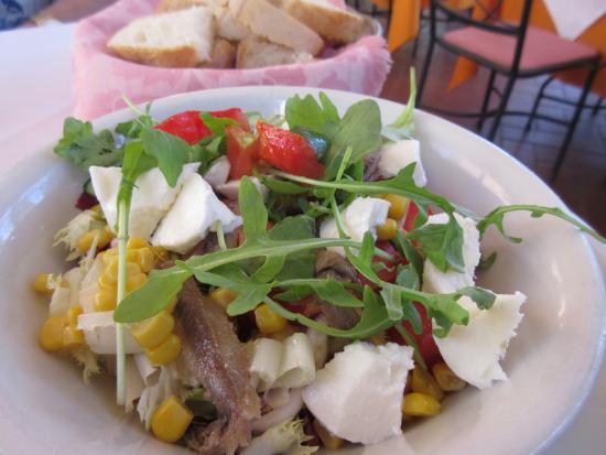 La Torre di Monte Oliveto: Salad