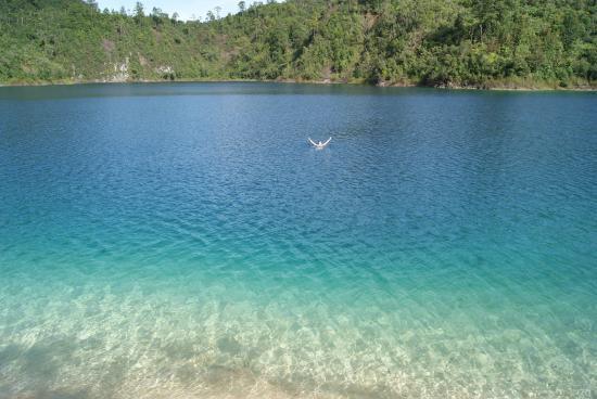 Lagos de Montebello : Термальное озеро