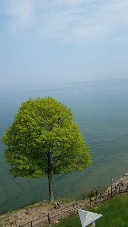 Dunkirk Lighthouse & Veterans Park Museum: View from the top of the Lighthouse
