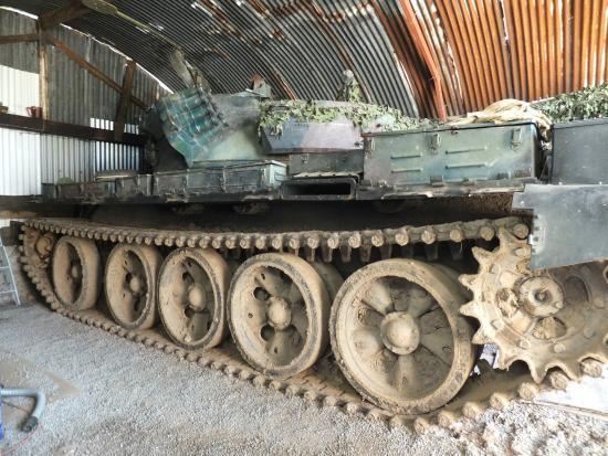 T-55AM2P Merida at Tank School